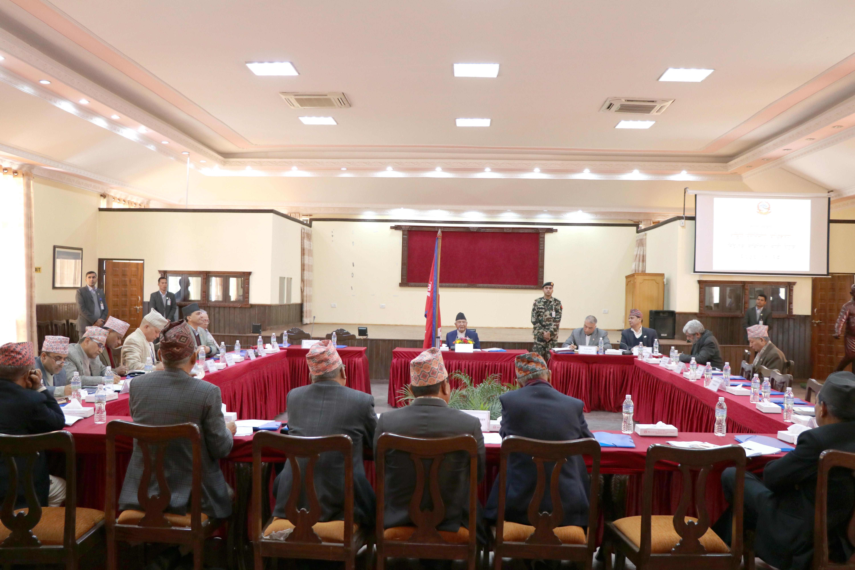 राष्ट्रिय पुनर्निर्माण प्राधिकरण निर्देशक समितिको बैठक, २०७६ पौष २८