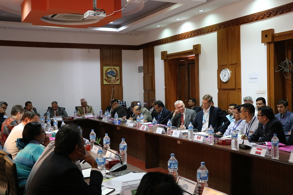 प्राधिकरण विकास सहायता समन्वय तथा सहजीकरण समितिको बैठक