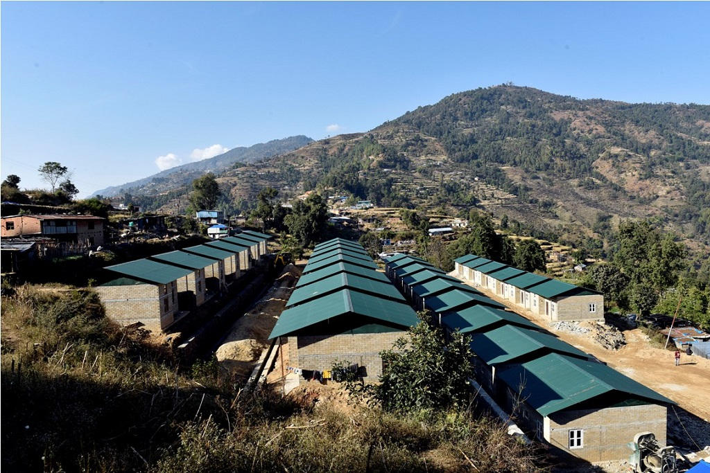Thakle Integratted settlement at Sindhupalchok